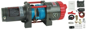 3500LB 12V JETSKI WINCH with SYNTHENIC ROPE 3 Ton