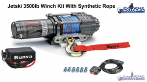 Jetski Electric Winch 3 Ton 35000lb 12 Volt
