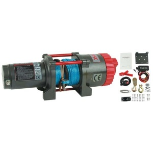 Jetski Winch Runva 3500lb 3.5 ton Synthetic rope